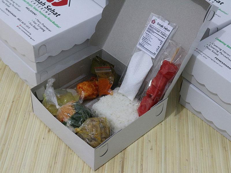 Nasi Kotak | Omah Sehat Catering